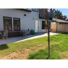 Rental info for Brand New 2 Bedroom with Patio & Fenced Yard