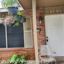 Rental info for 2107 W. Olmos in the Jefferson area