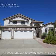 Rental info for 6174 W. Quail Ave. in the Arrowhead Ranch area