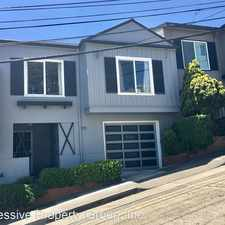 Rental info for 568 Bella Vista Way in the Miraloma Park area