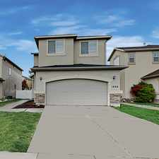 Rental info for 1866 W Pointe Meadow Loop in the Saratoga Springs area