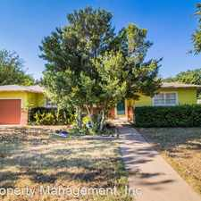 Rental info for 3706 37th St. in the Maedgen Area area