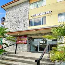 Rental info for Park Villa Apartments in the New Westminster area
