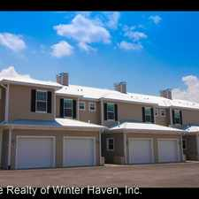Rental info for 315 MacLandon Ct in the Winter Haven area