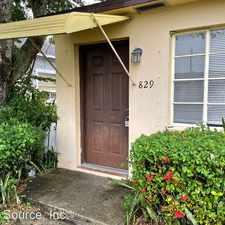 Rental info for 829 N H St - 829 Main in the Lake Worth area