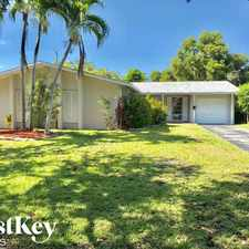 Rental info for 10520 Southwest 199th Street in the Cutler Bay area
