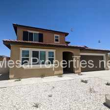 Rental info for 14147 Mustang Cir #A in the Adelanto area