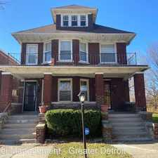 Rental info for 3033 Montclair St. in the Mack area