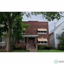 Rental info for Beautiful 4 bedroom 2 bath second floor unit. Close to transportation and shopping. Beautiful hardwood floors throughout. Section 8 welcome. in the Chicago Heights area