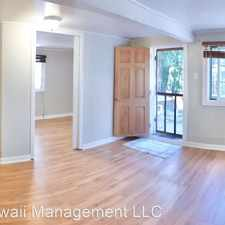 Rental info for 736 Hawaii St - 736 Hawaii St - Duplex (Downstairs) in the Nuuanu - Punchbowl area