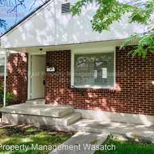 Rental info for 1488 Green St. in the Liberty Wells area