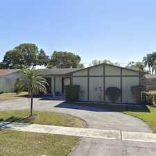 Rental info for 11390 Northwest 40th Place