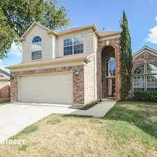 Rental info for 2513 Springwater Drive in the Flower Mound area