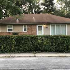 Rental info for 188 Nauvoo Street in the Park Forest area