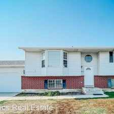 Rental info for 493 W 300 S in the American Fork area