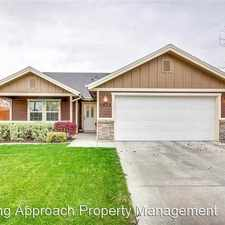 Rental info for 4573 N Conner Way in the Northeast Meridian area