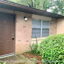 Rental info for 1213 NW 39Th Ave in the Gainesville area