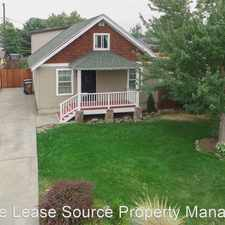 Rental info for 1614 N Magnolia in the Chief Garry Park area
