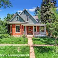 Rental info for 421 Highland Avenue in the Mapleton Hill area