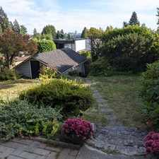 Rental info for Lawson Ave & 14th St in the West Vancouver area