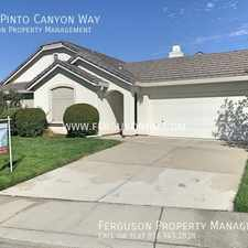 Rental info for 9145 Pinto Canyon Way in the Blue Oaks area