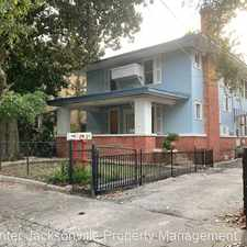 Rental info for 1414 Pearl Street in the Jacksonville area