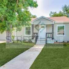 Rental info for Charming 3 Bedroom in Fort Worth! in the Westcliff area