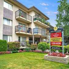 Rental info for Holly Tree Apartments in the New Westminster area