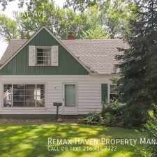 Rental info for 6941 Greenleaf Ave in the Parma Heights area