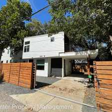 Rental info for 2105 Haskell St. Unit B in the East Cesar Chavez area