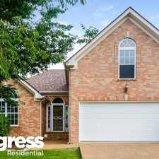 Rental info for 1028 Saddle Wood Dr in the Mount Juliet area