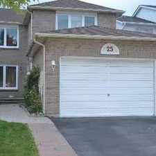 Rental info for 25 Barnes Dr #BS in the Pickering area