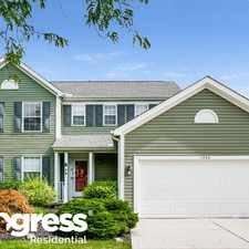 Rental info for 1306 Red Bank Dr in the Grove City area