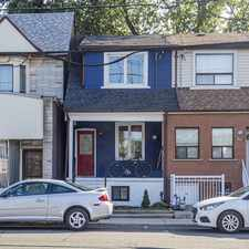 Rental info for 863 Pape Ave in the Danforth Village - East York area