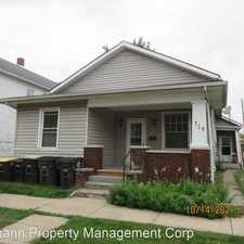 Rental info for 712 Wilt Street in the West Central area
