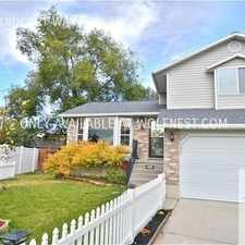 Rental info for 263 E Handcart Way in the Midvale area