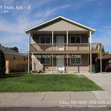 Rental info for 319 Park Ave in the Old Town area