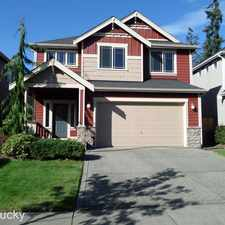 Rental info for 119 206th Pl. SW in the Bothell West area