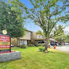 Rental info for Brookside Gardens Townhomes in the Maple Ridge area