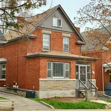 Rental info for 19 Fairview Avenue #Main Unit in the Kitchener area