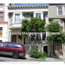 Rental info for 2730 Sutter Street in the Lower Pacific Heights area