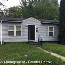 Rental info for 26076 Colgate St. in the Inkster area