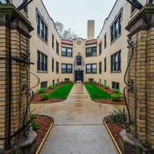 Rental info for 4350-58 N. Cicero Ave/4801-13 W. Montrose Ave in the Portage Park area