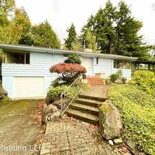 Rental info for 3046 71st Ave SE in the Mercer Island area