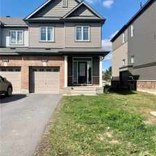 Rental info for 2477 Waterlilly Way in the Barrhaven area