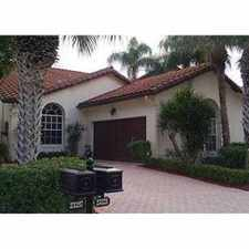 Rental info for Gorgeous home in desireable Boca Pointe in the Boca Raton area