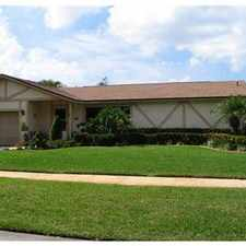 Rental info for awesome cooper city pool home in the Cooper City area