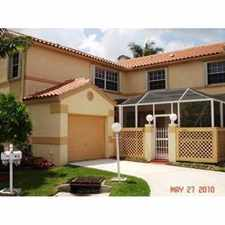 Rental info for beautiful cooper city townhome in ebassy lakes in the Cooper City area