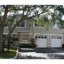 Rental info for gorgeous cooper city town home in the Cooper City area