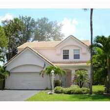 Rental info for BEAUTIFUL CORAL SPRINGS RENTAL in the Coral Springs area